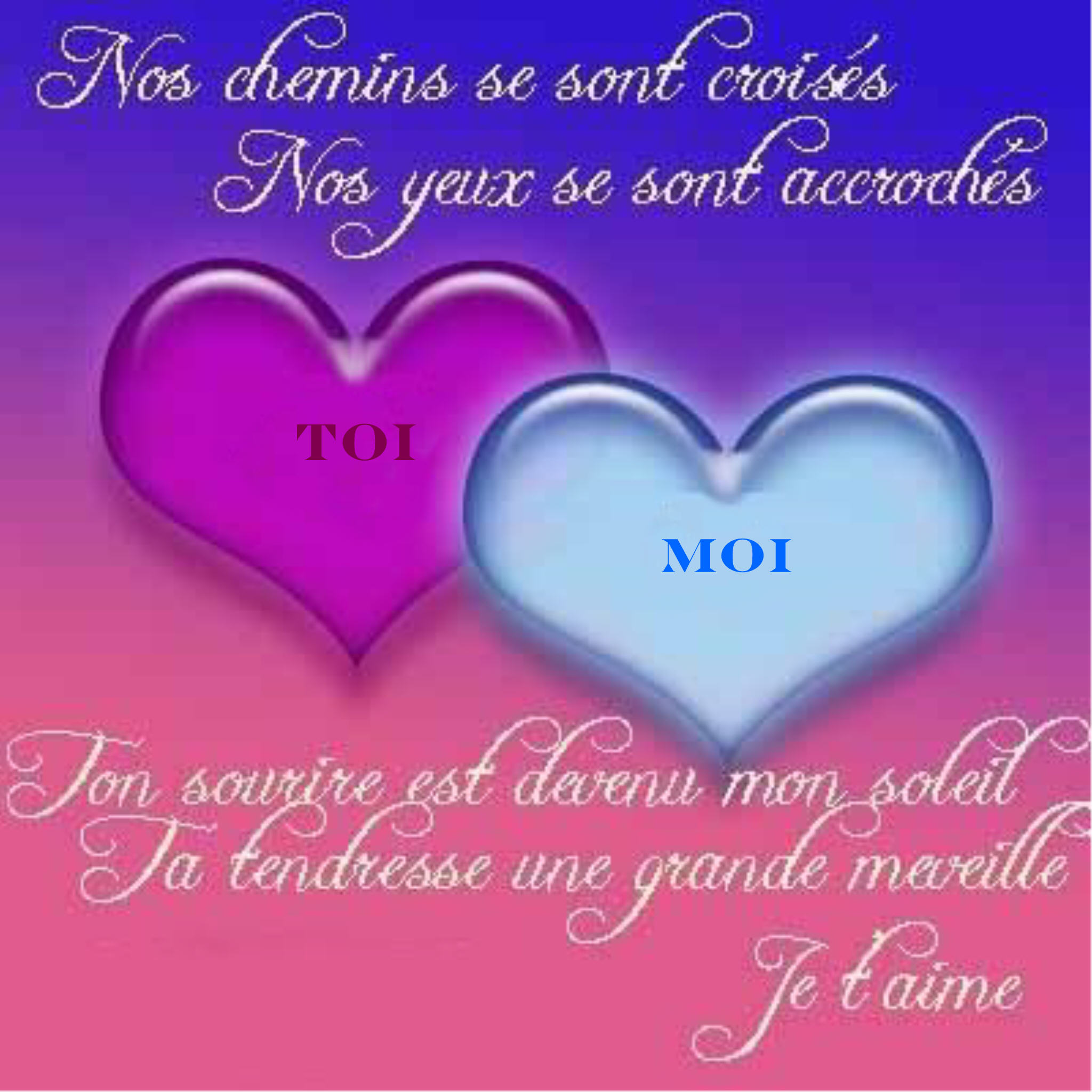 Romantic love quotes: beau po0e8me damour romantique